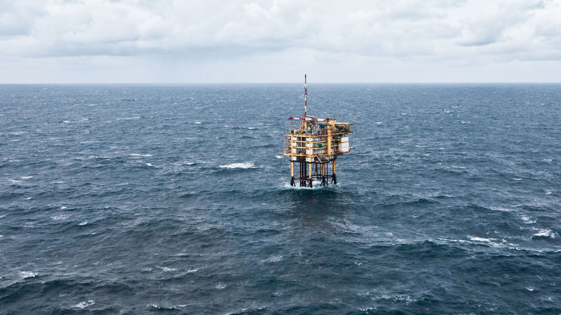 Wintershall Dea Offshore Platform Entenschnabel